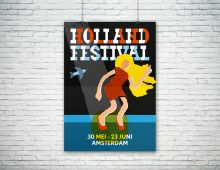 Affiche, Holland Festival